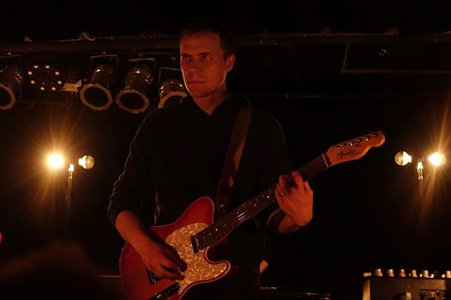 Steve Holmes of @americfootball at @blackcatdc last month. It was really cool to see a crowd so into a band that had been pretty niche when they first came out. One or two people in the front row were pretty obnoxious, but overall, the crowd was pretty chill for a sold out show. . . . .  #livemusic #stagephotography #rocknroll #concertphoto #newmusic #livephotography #musiclife #rockphotography #concertphotography #musicphotography #musicphoto #livemusicphotography #concertjunkie #concertphotographer  #washingtondc #exposeddc #igdc #mydccool #acreativedc #tbt #tbt❤️ #tbthursday