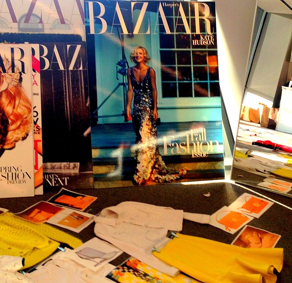 inside the closet at harpers bazaar magazine