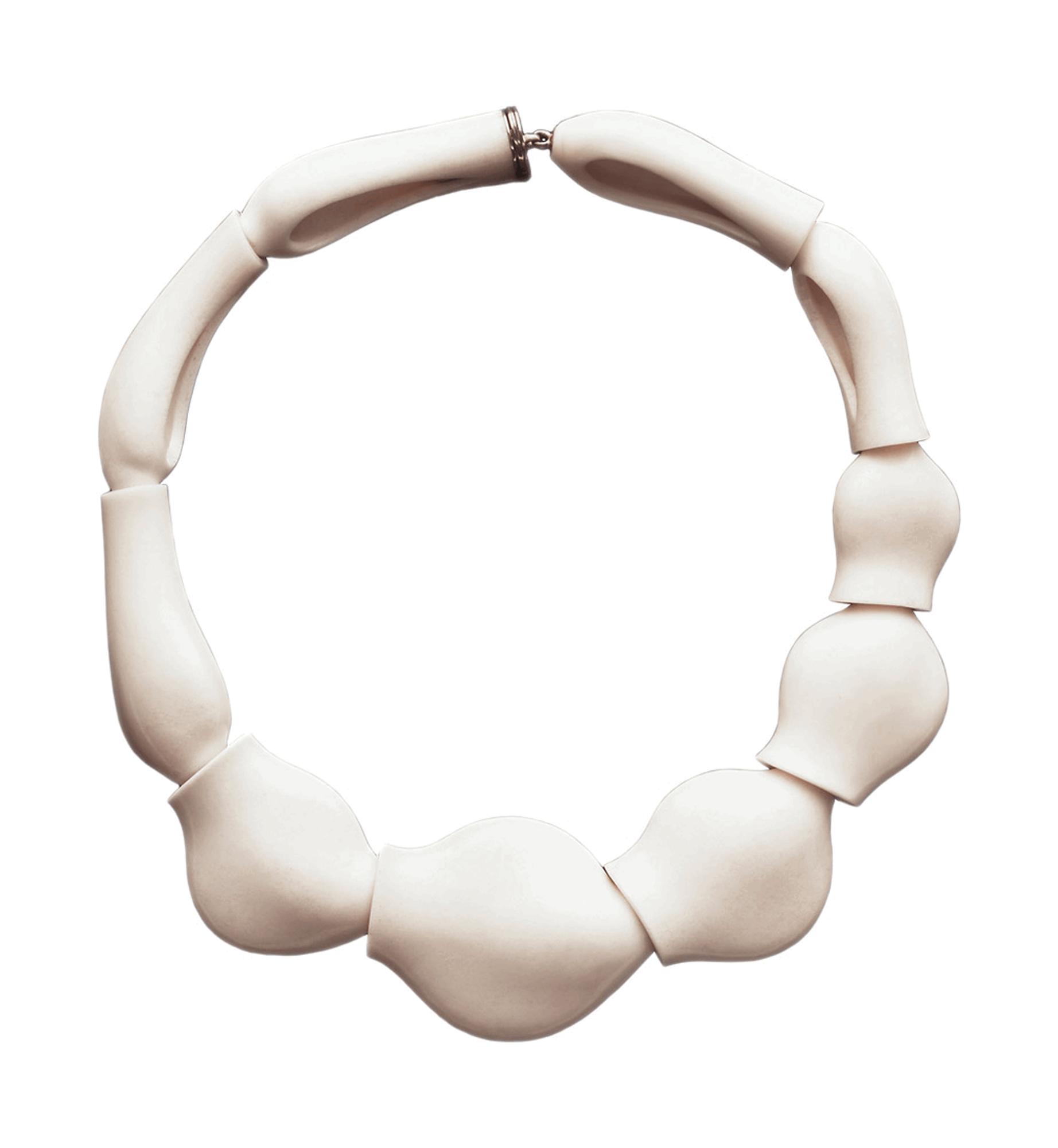 Cacholong Necklace 2005