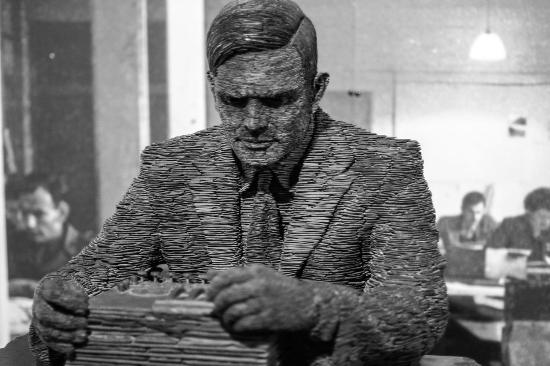 Alan Turing Statue,Bletchley Park