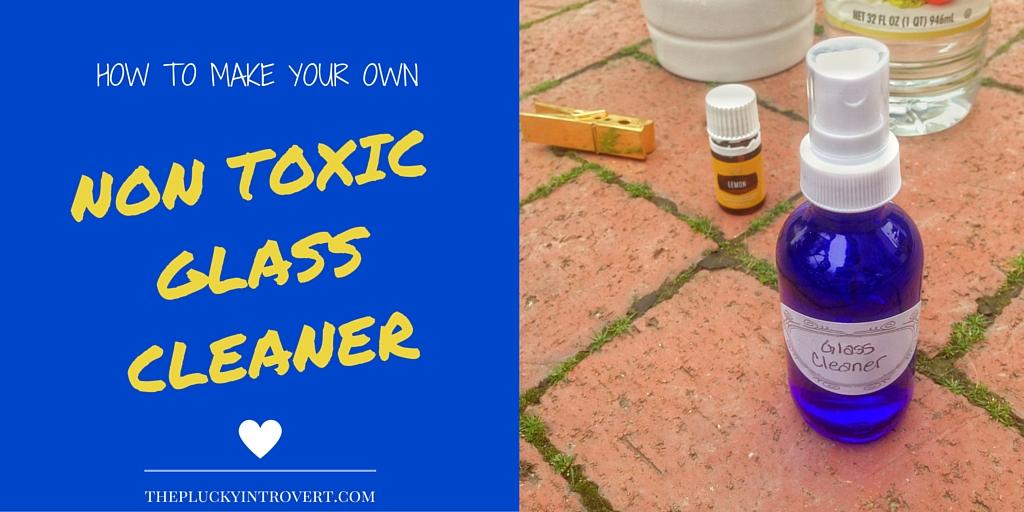 DIY Non toxic window cleaner recipe