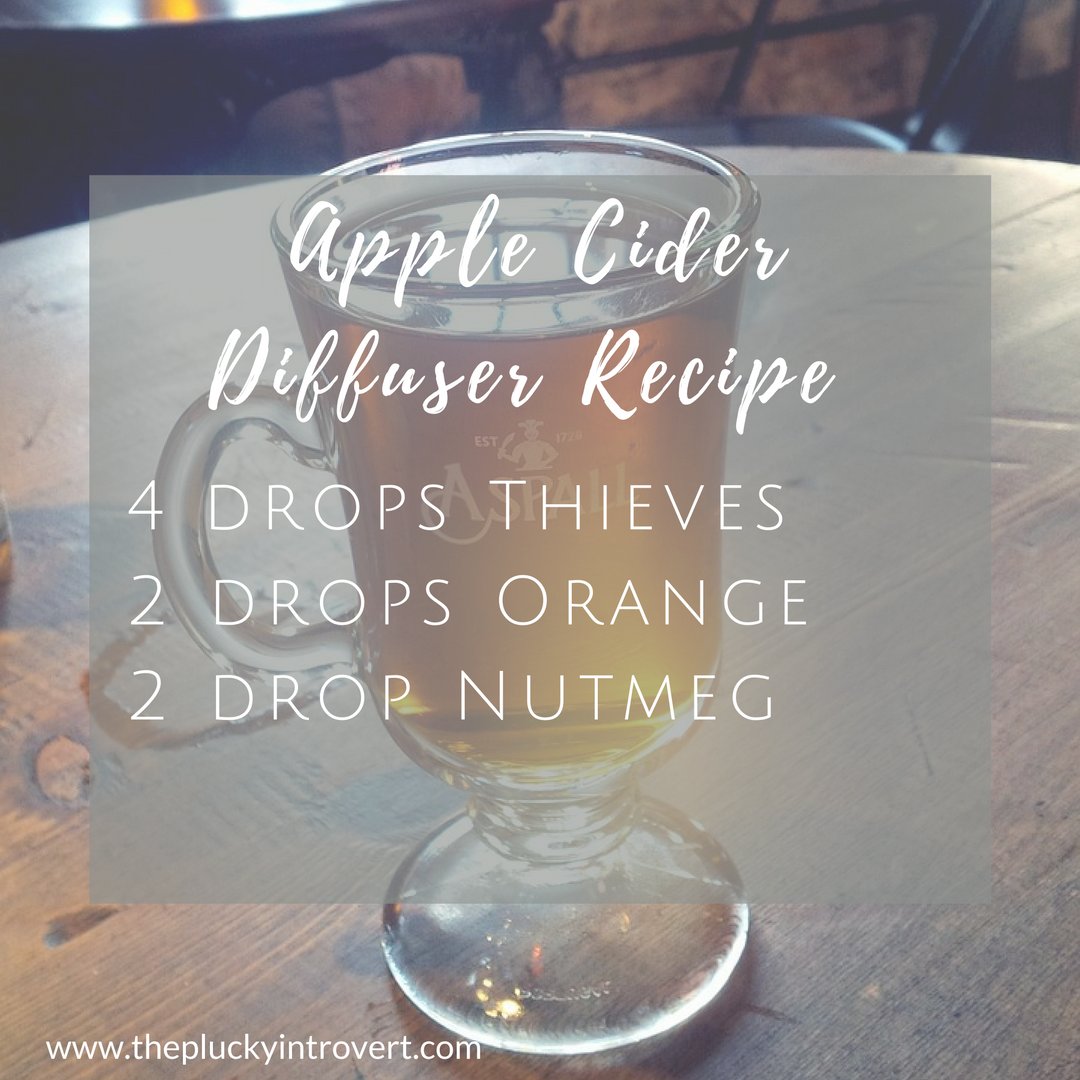 How amazing does this apple cider essential oil diffuser recipe sound for fall??
