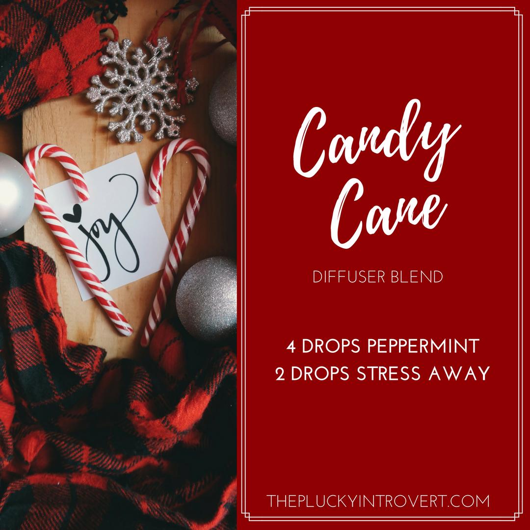 Candy Cane diffuser recipe