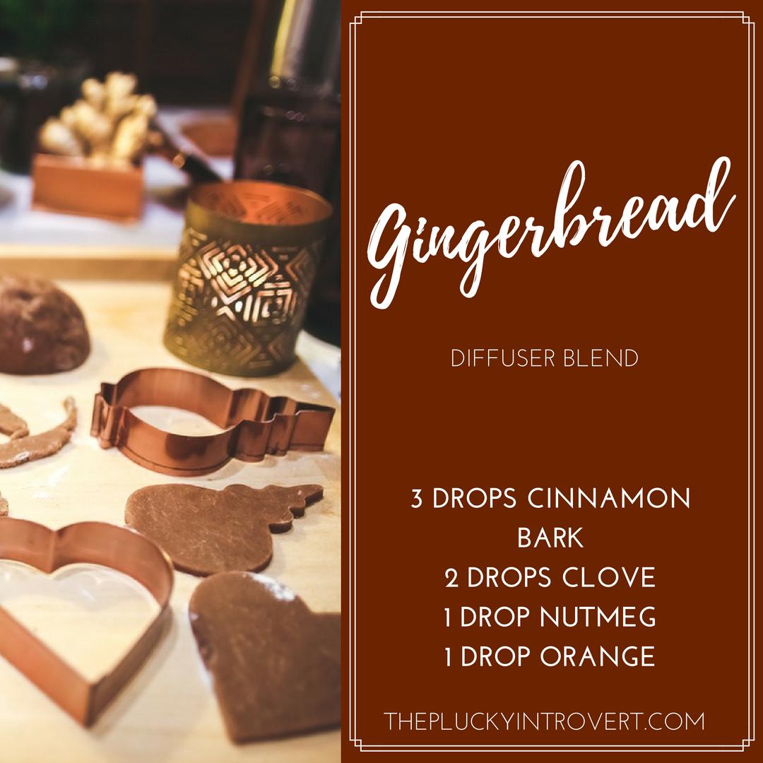 Gingerbread diffuser blend