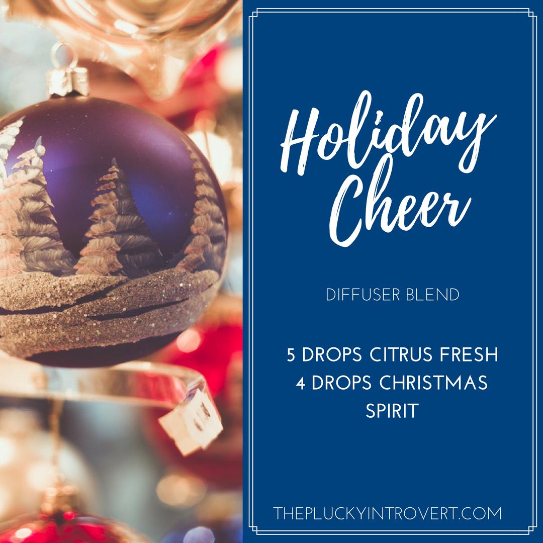 holiday diffuser recipe