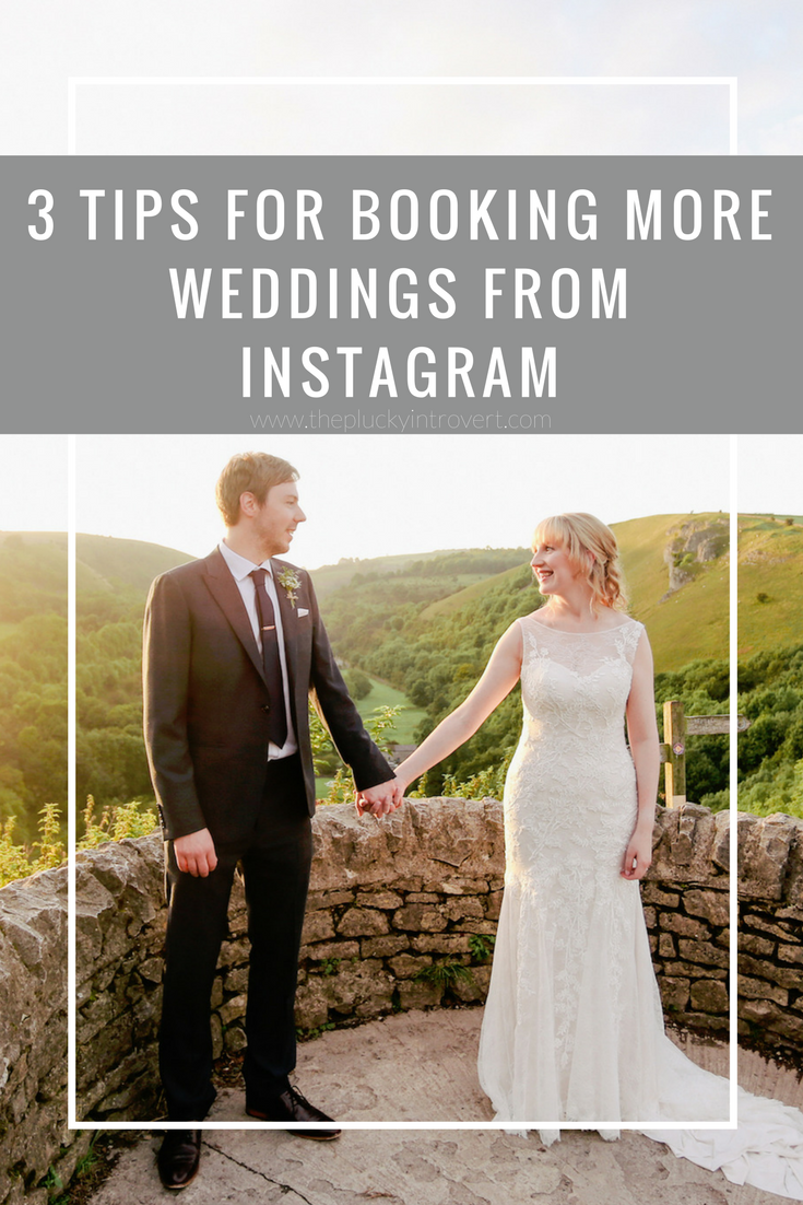how to book brides from instagram