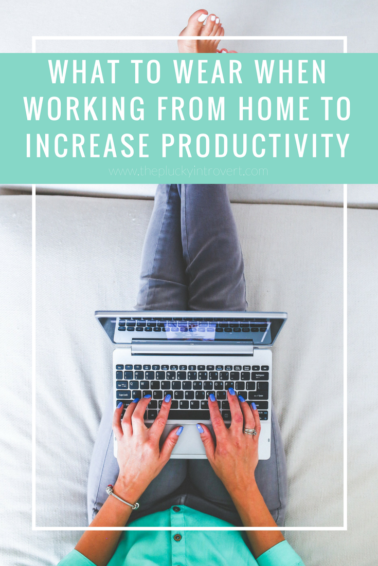 What should you wear when you work from home? This blog post is full of great advice and ideas!