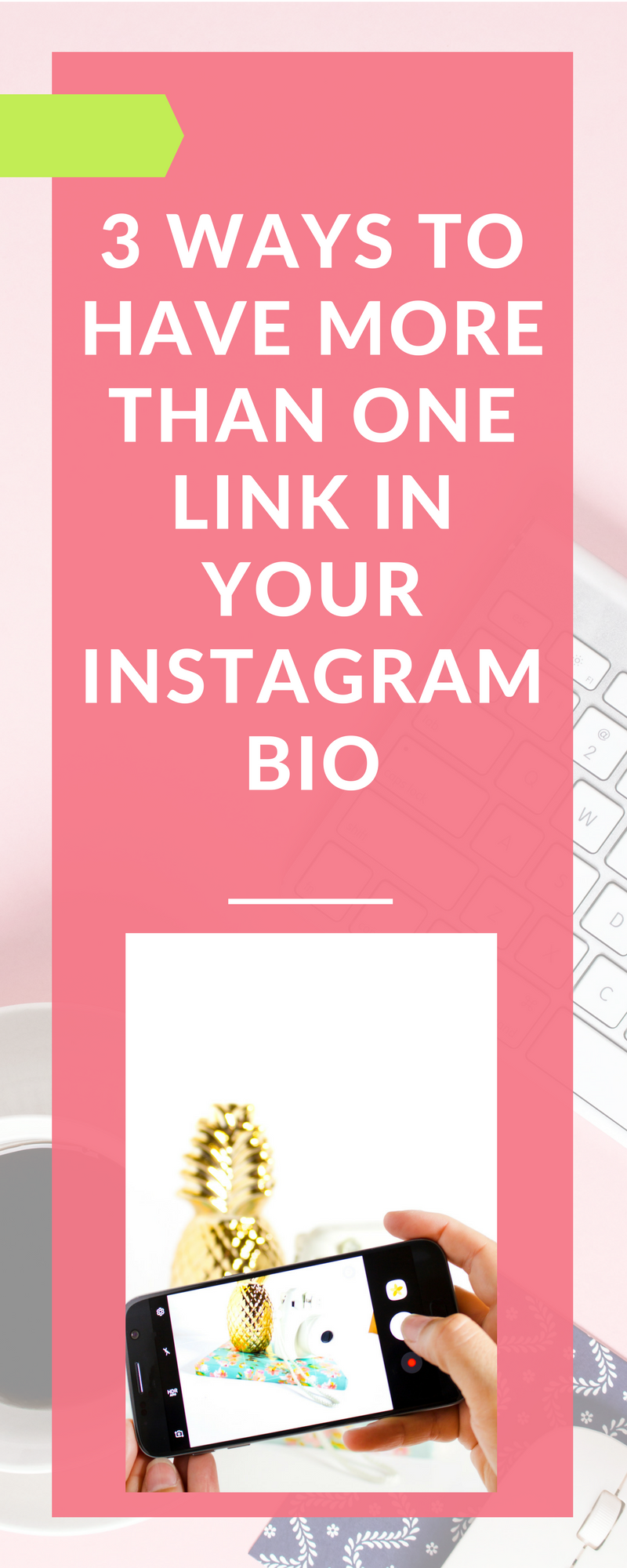 Great list of tools that let you put more than one link in your Instagram bio (which turns out is really important for wedding vendors marketing on Instagram the right way!)