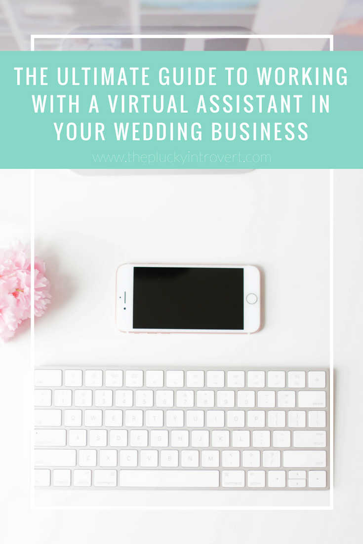 How to use a virtual assistant for your wedding business - wedding vendors rejoice, because not having to worry about your inbox all the time is for real!