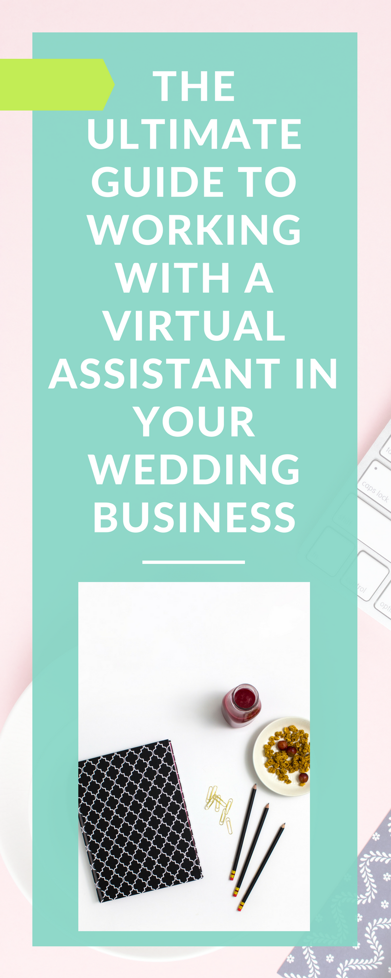 An ultimate guide to working with a virtual assistant in your wedding business. This is perfect for wedding photographers, planners, florists, videographers, DJs, officiants, and wedding venues, among other vendors. Never have to worry about your social media or email again!