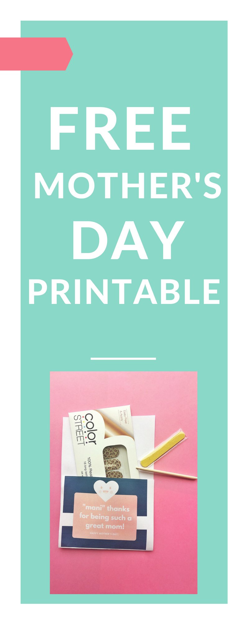 Free Mother's Day Gift Printable
