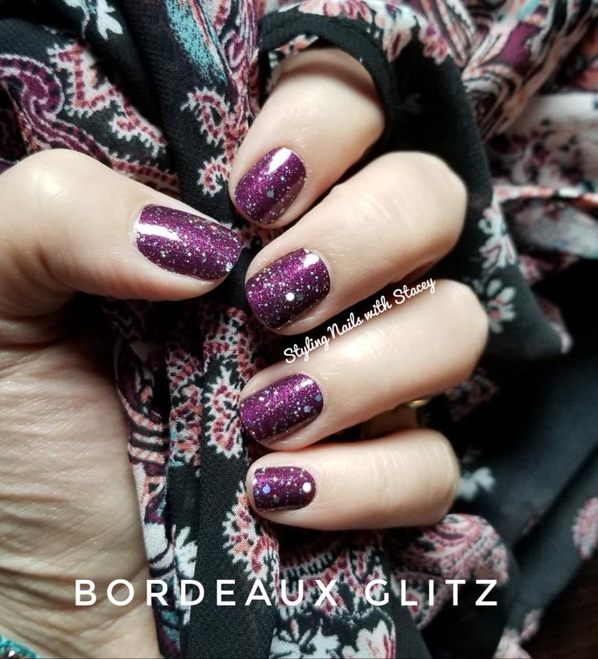 Bordeaux Glitz -