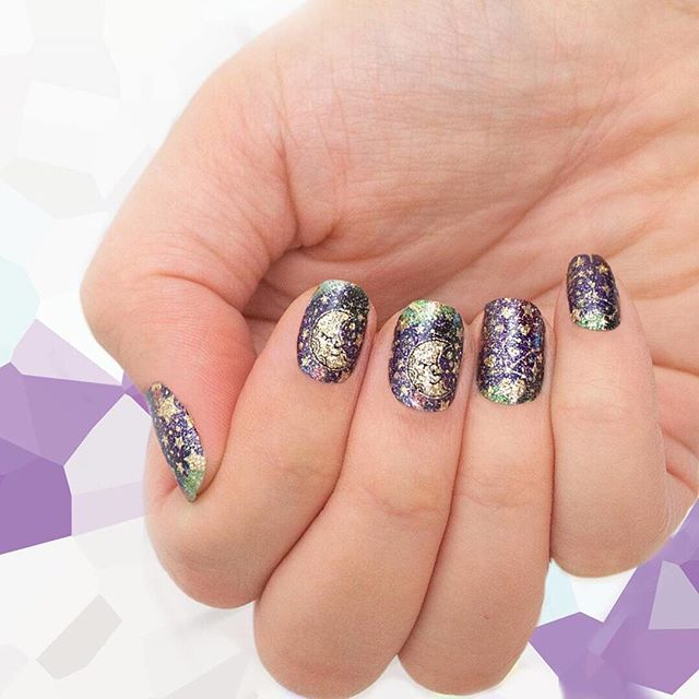 "Get this gorgeous celestial shade free with your order of $50 or more! From today through 12/31 at noon CST, all orders $50+ (before taxes and shipping) will receive 1 set of ""Infinity Love"" nail art! No code necessary - your free set will not appear in your cart, but will automatically be shipped with your $50 order! . How amazing are these for the astrology or tarot obsessed person in your life?!? . Link in bio or bit.ly/thepluckypolish to order! . . . . . . #tarot #tarotreader #astrology #astrologer #zodiac #astrologyposts #aries #taurus #gemini #cancer #leo #virgo #libra #scorpio #sagittarius #capricorn #aquarius #pisces #newbeginnings #tarotreaders #positiveenergy #yoga #meditation #healingenergy #moonchild #hippiestyle #goddessvibes #lightworker #consciousness #goddessenergy"
