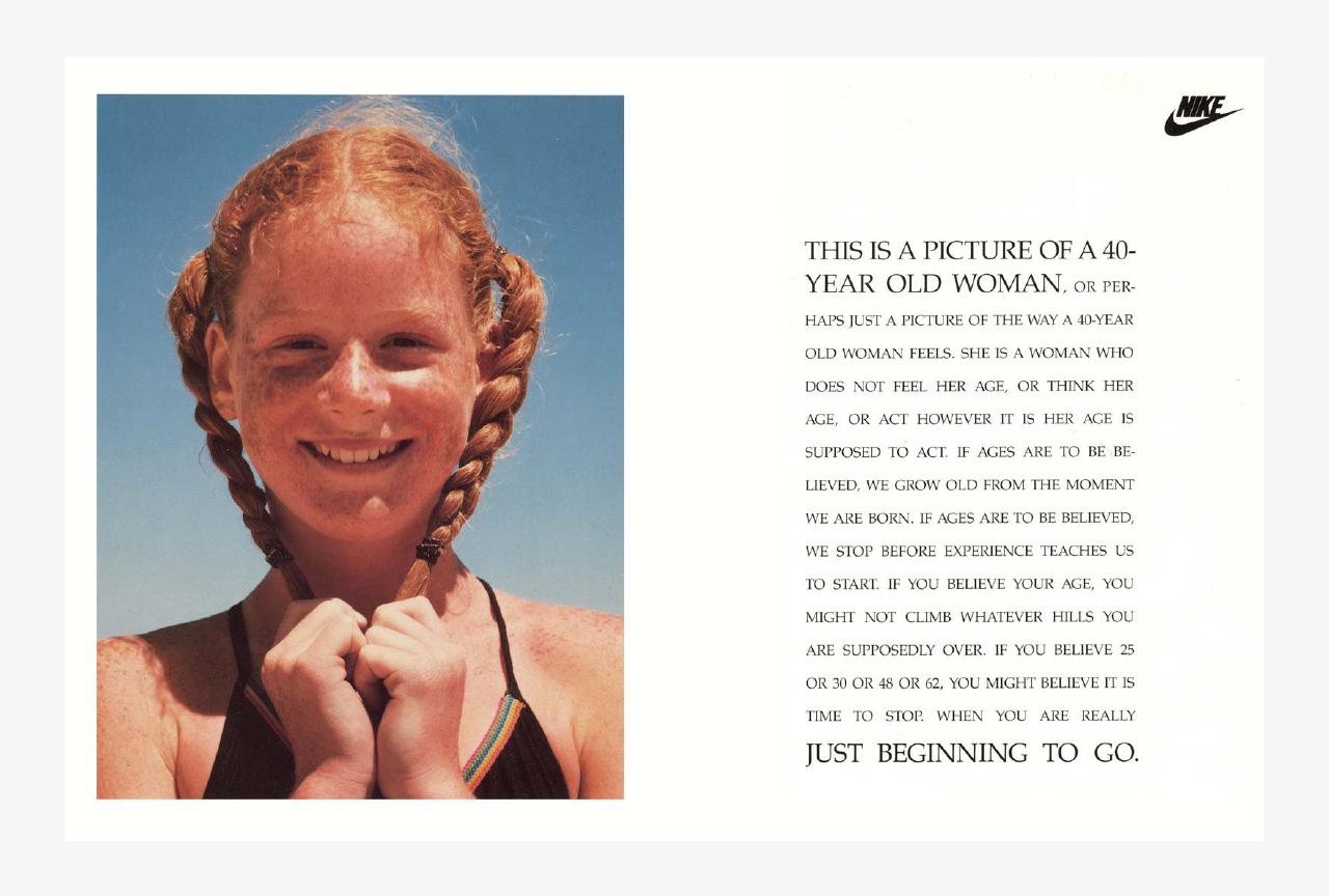 Charlotte Moore Nike Women 40 year old