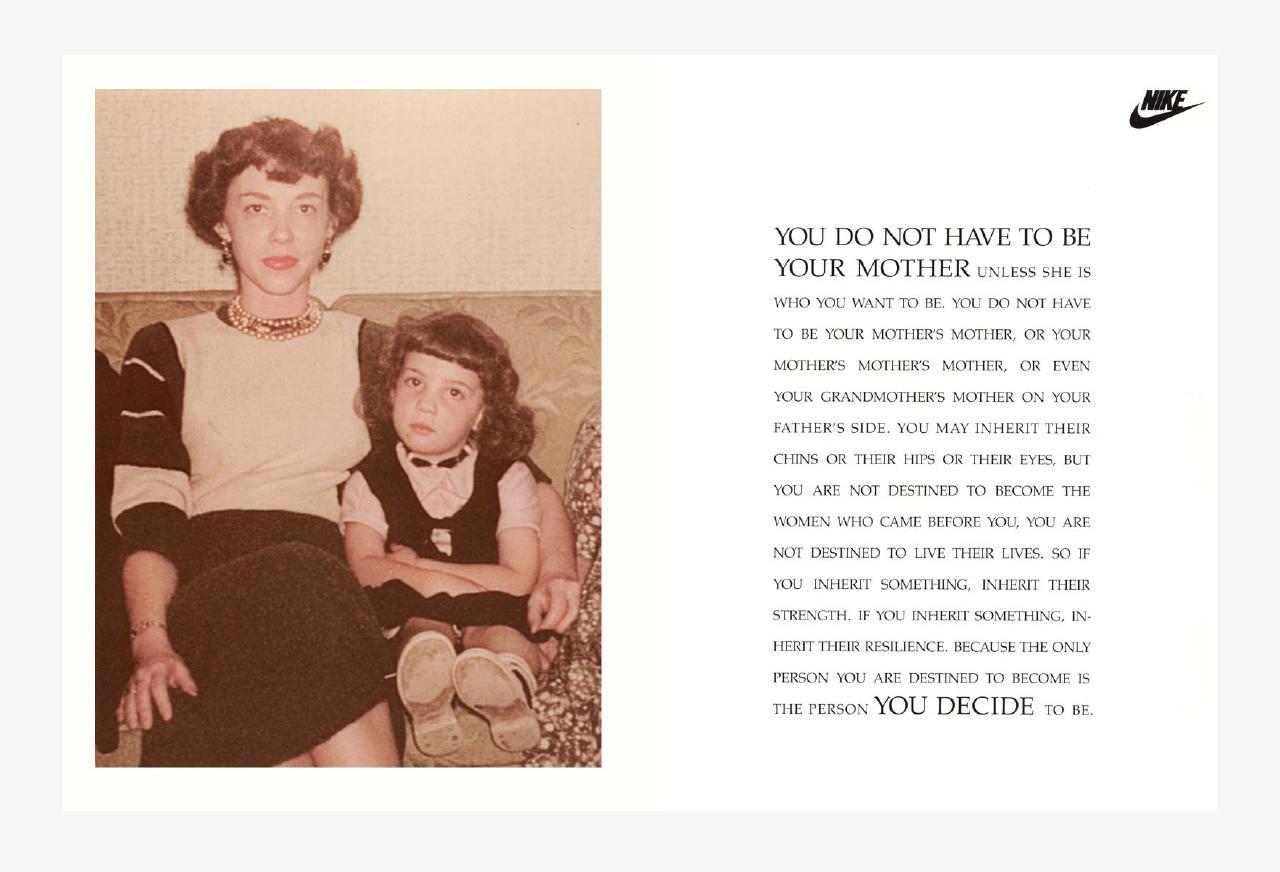 Charlotte Moore Nike Women Mother