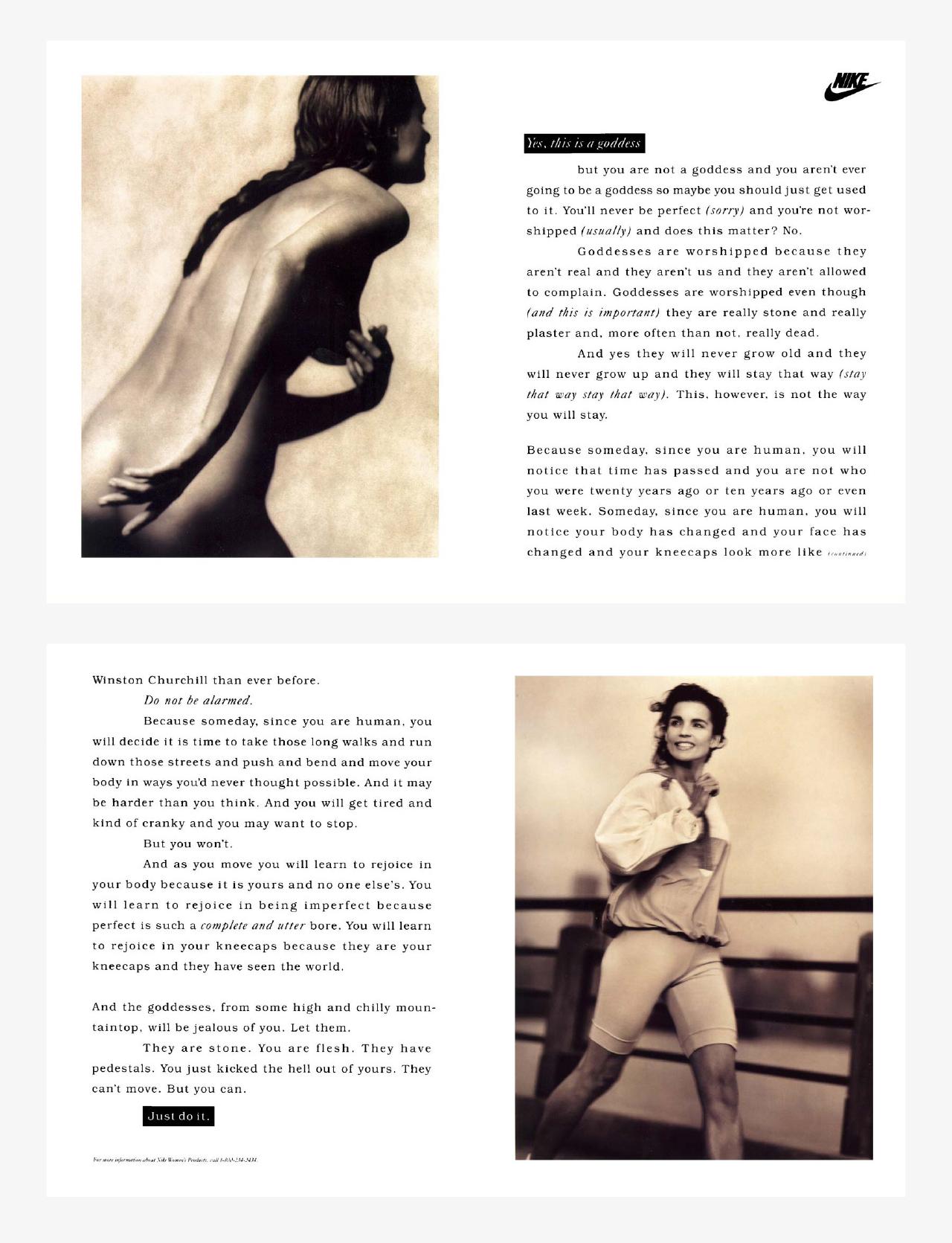 Charlotte Moore Nike Women Goddess
