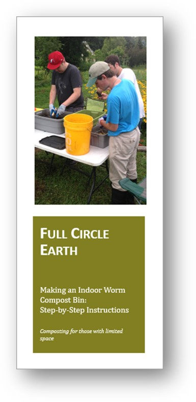 Making an Indoor Worm Compost Bin - Even though kitchen scraps are biodegradable, when thrown away they end up in landfills where they produce methane, a greenhouse gas that contributes to climate change. For those who live with limited space, an indoor worm bin (vermicomposter) can be an ideal solution.Download step-by-step instructions here.