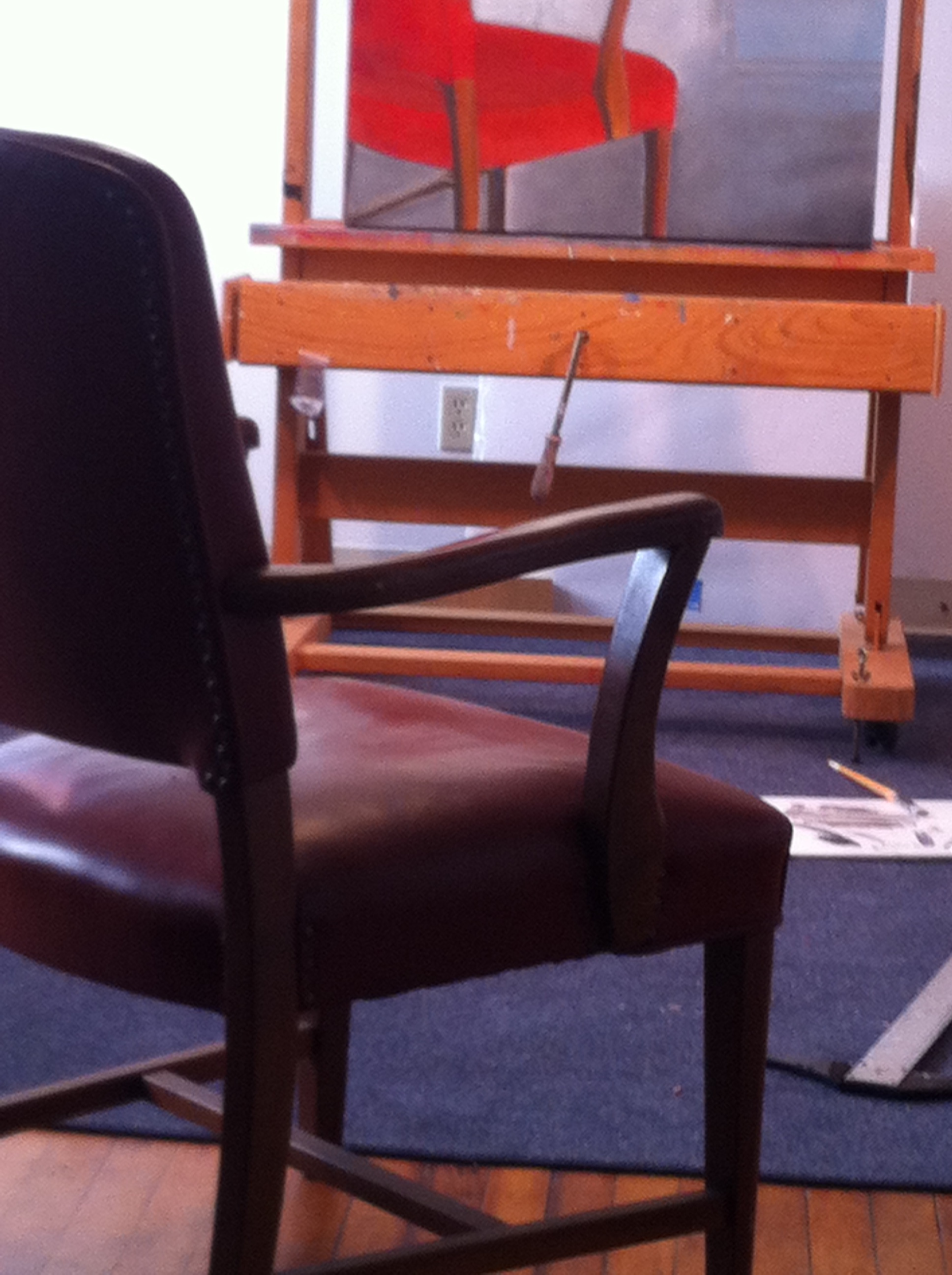 My red Chair -