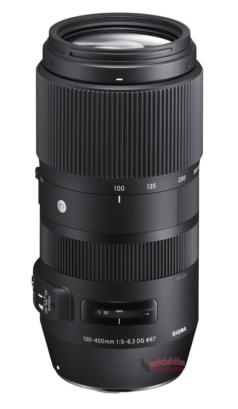 Sigma 100-400 mm F5 - 6.3 Contemporary