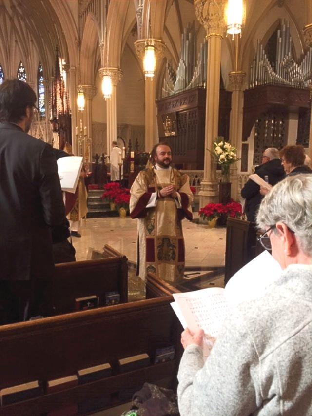 Deacon Ordination for Adam Bucko