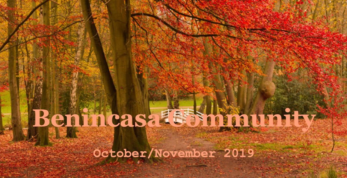BEnincasa community newsletter fall foiliage