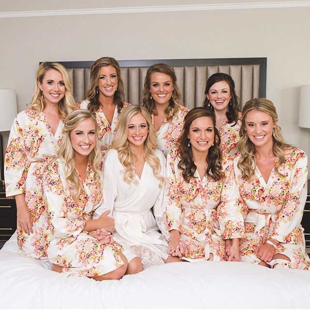 Bridal Party Goals ··· how beautiful is this group? . . . We'd love to help you and your girls get ready. Fill out the contact form on our website to see if your date is still available! . . . Bride: @kriscam3 Photo: @sharayamauckphoto  Hair: @theprettybrideco.kc . . . #mua #weddingmakeup #beauty #bridetobe #makeupaddict #motd #weddingphotographer #makeup #weddingphotography #maccosmetics #makeupartist #wakeupandmakeup #weddingdress #photography #makeuptutorial #weddingday #weddings #beautiful #kcwedding #kansascitywedding #missouri #love #wedding #hair #bridal #bridalhair #weddinginspiration #bridalmakeup #bride #weddinghair
