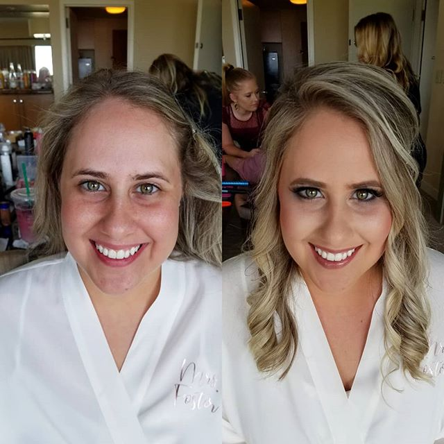 It's a jungle out here! Sometimes we work in the best spots. This bride and bridal party were an absolute joy to hang out with Saturday morning!! Stunning before and after! . . Have you booked us for your wedding yet?! Now booking for 2020. Let us pamper you and yours! . .  #mua #weddingmakeup #beauty #bridetobe #makeupaddict #motd #weddingphotographer #makeup #weddingphotography #makeupartist #weddingday #weddings #beautiful #kcwedding #kansascitywedding #love #wedding #hair #bridal #bridalhair #weddinginspiration #bridalmakeup #bride #weddinghair #airbrushmakeup