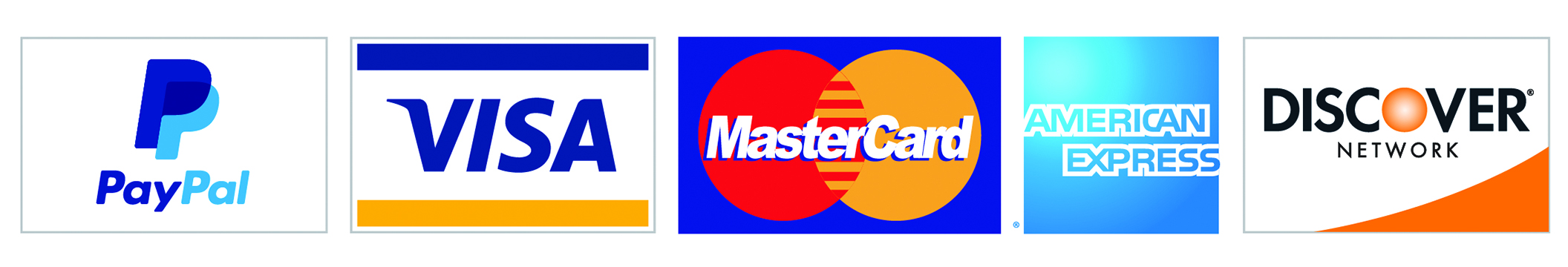 CASH, CHECK AND MAJOR CREDIT CARDS ACCEPTED.