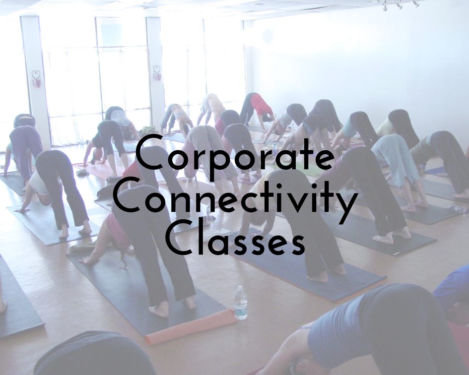 "- Semi-private group classes for up to 30 people at your location: $100 per class,10 class minimum booked in advance(any members of your business are welcome to attend any classes with no requirement that they attend all classes)Includes ☀Weekly/Bi-Weekly classes — 1 hour each, in-person on location☀Personalized instruction for your group — classes will be ""mixed levels"" and tailored to the students attending☀All yoga props necessary for practice and comfort during classes☀All employees who attend classes receive a 1-time discounted rate for a Seasonal Yoga Retreat Day within 1 year of corporate classes"