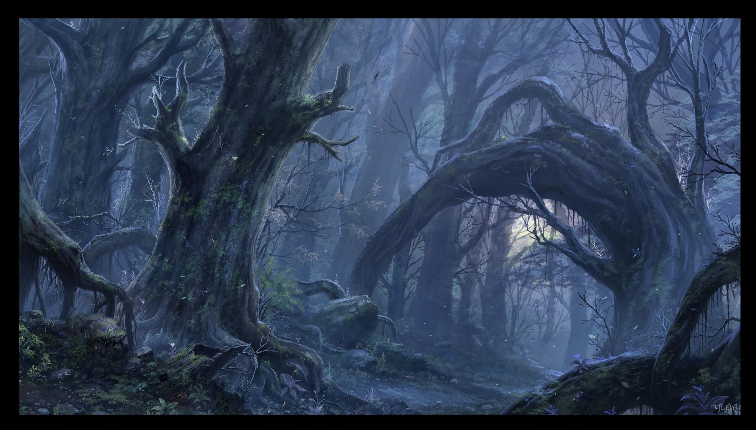 the_misty_wood_by_chaoyuanxu-d4fvdy0