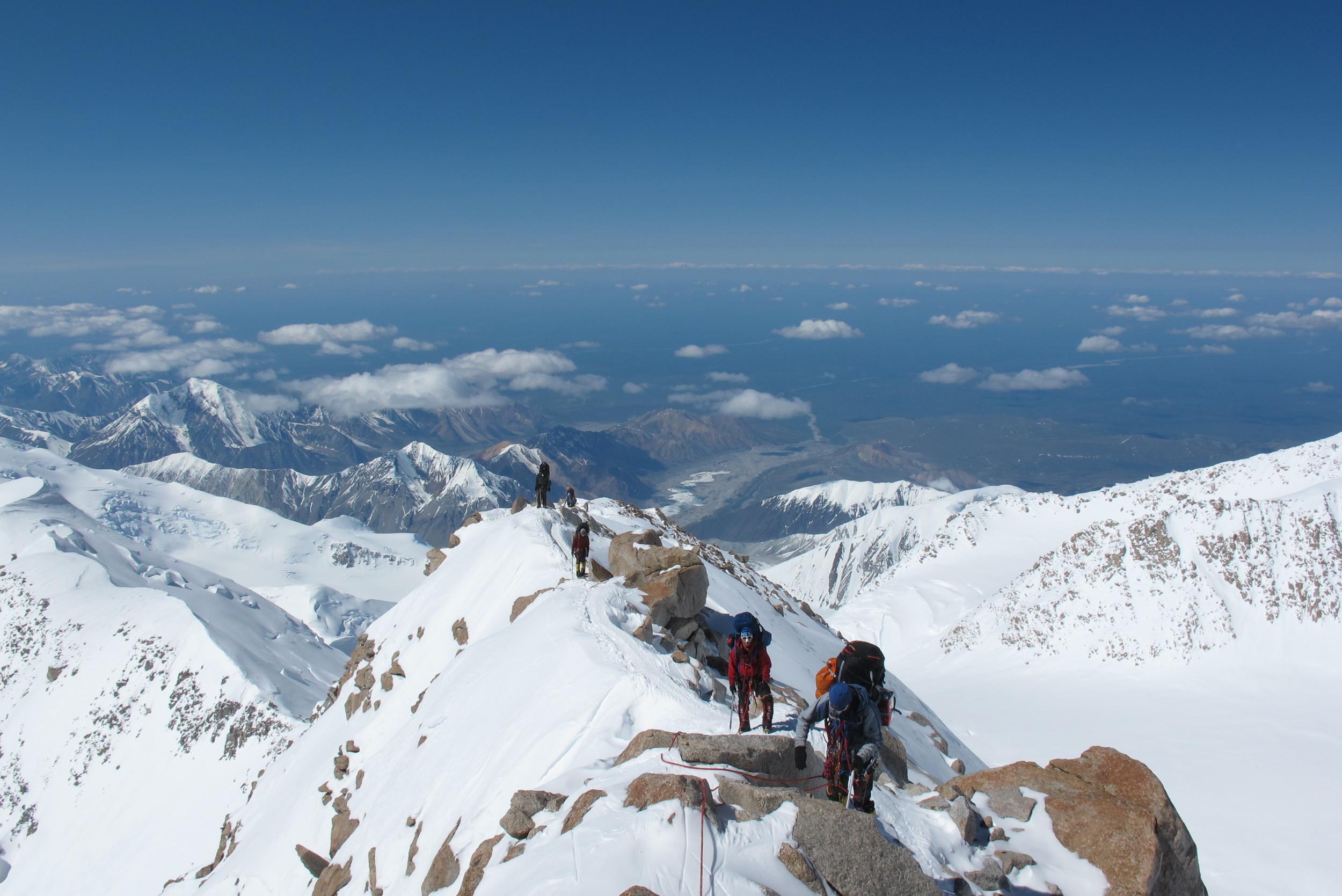 16 ridge on Denali