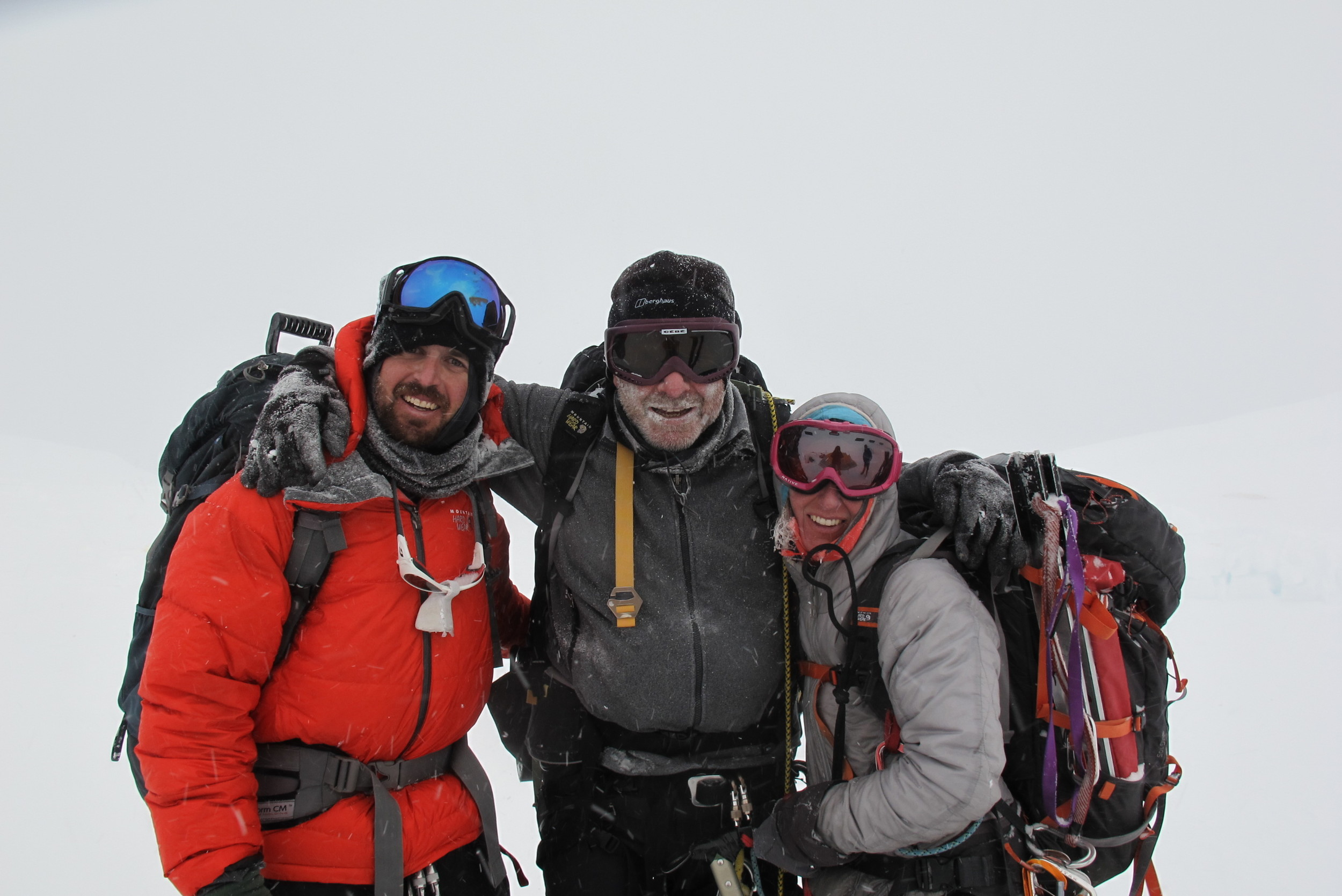 Back to 17 camp after a successful summit!