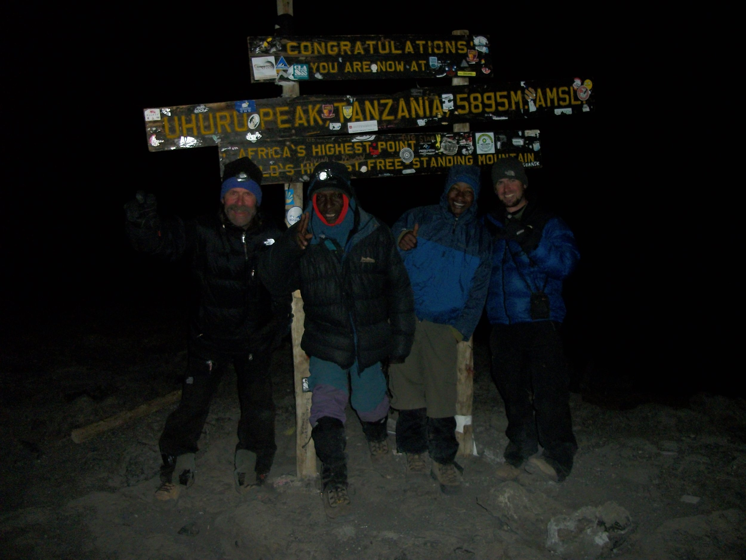 Summit of Mt. Kilimanjaro