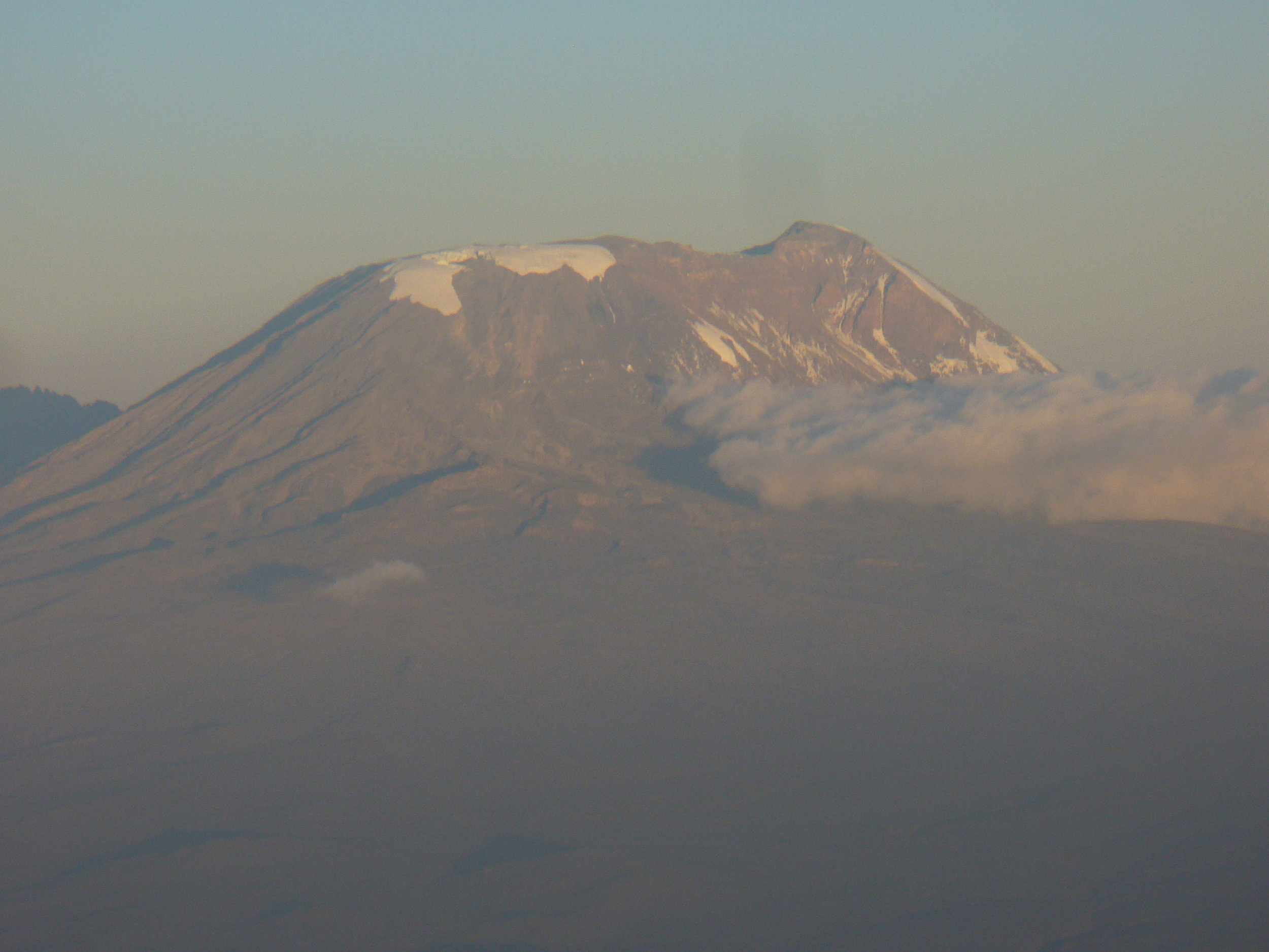 My first view of Mt. Kilimanjaro in 2011