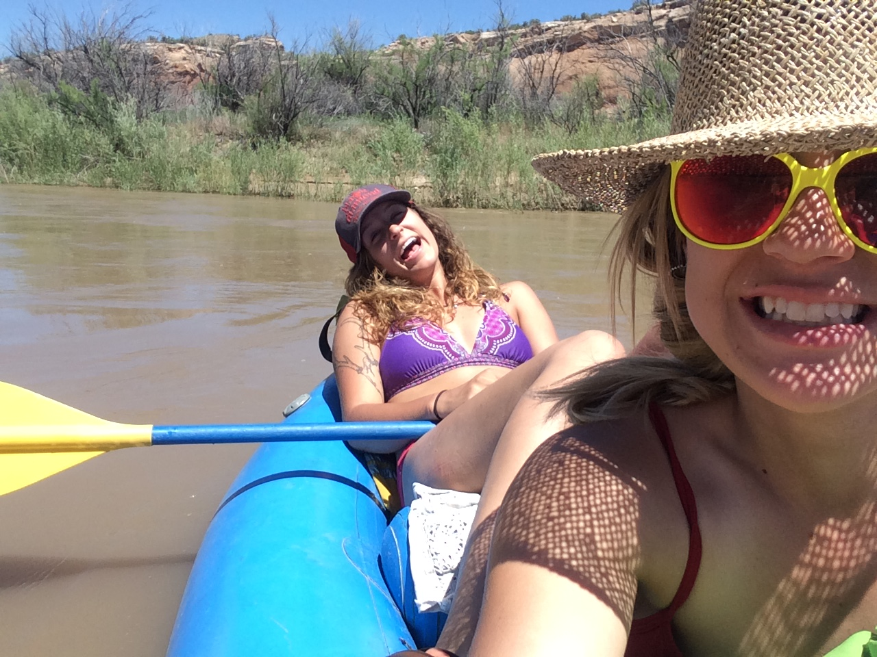 so we drove to colorado to put in some river time ......and we even made it on time to work monday morning!