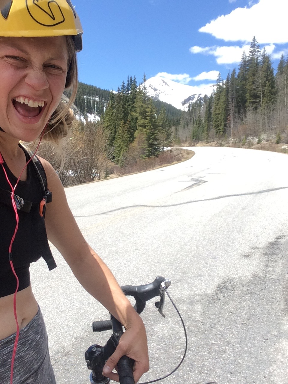 So there is a lot of this. Running, biking, lifting and climbing until jewell and I leave for Pakistan. Putting my head down and staying focused on making money. Gotta collect those freedom dollars for the next adventure. Here i am riding cottonwood pass outside of leadville colorado.