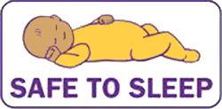click image for more information about SIDS and Safe Infant Sleep