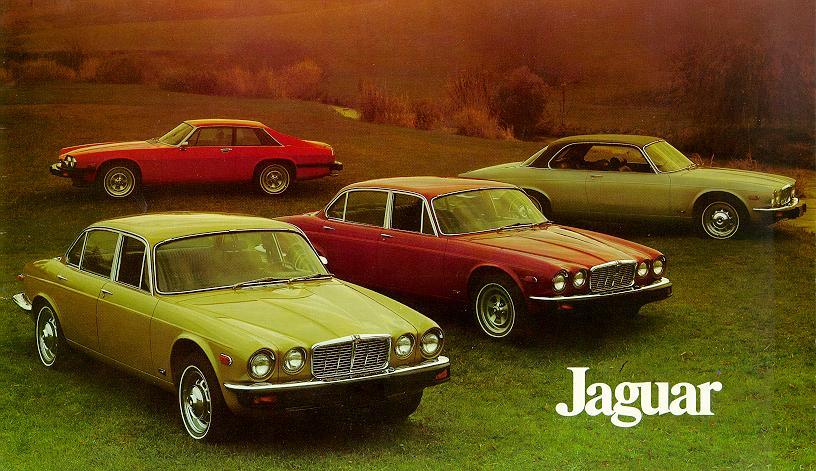 Jaguar Brochure ca. 1974