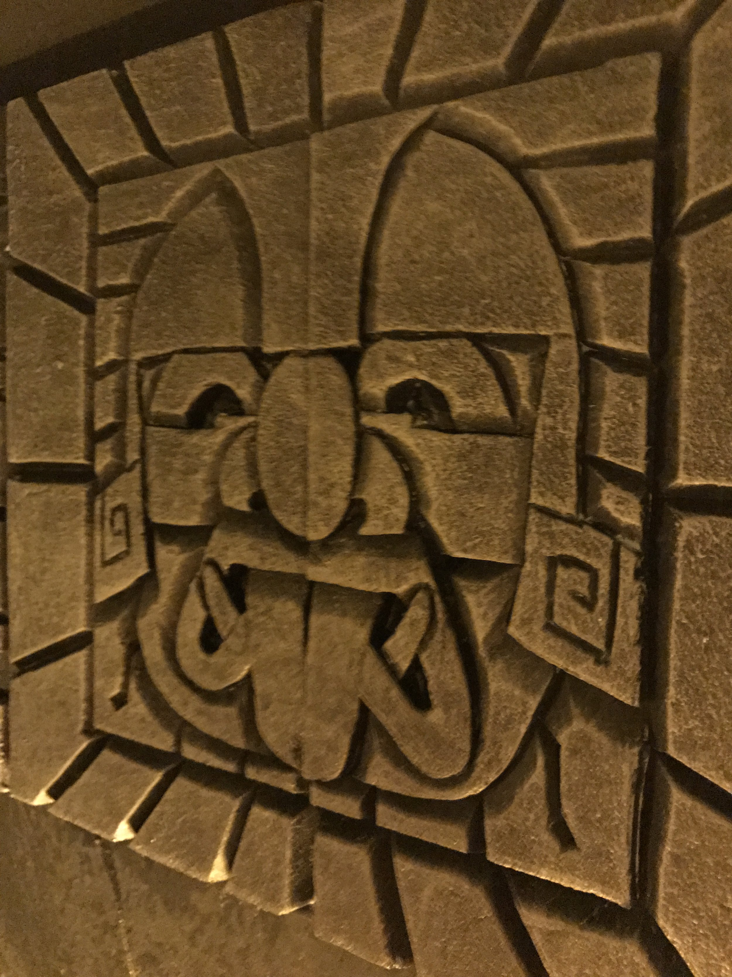 An escape room that feels like a Mayan template.