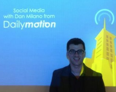 Dan Milano, International Social Media Manager, Dailymotion.