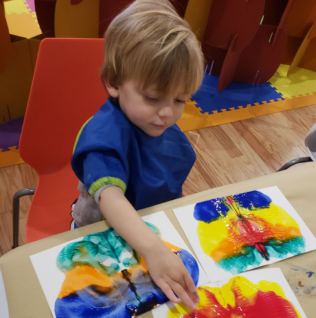 Painting for Tots