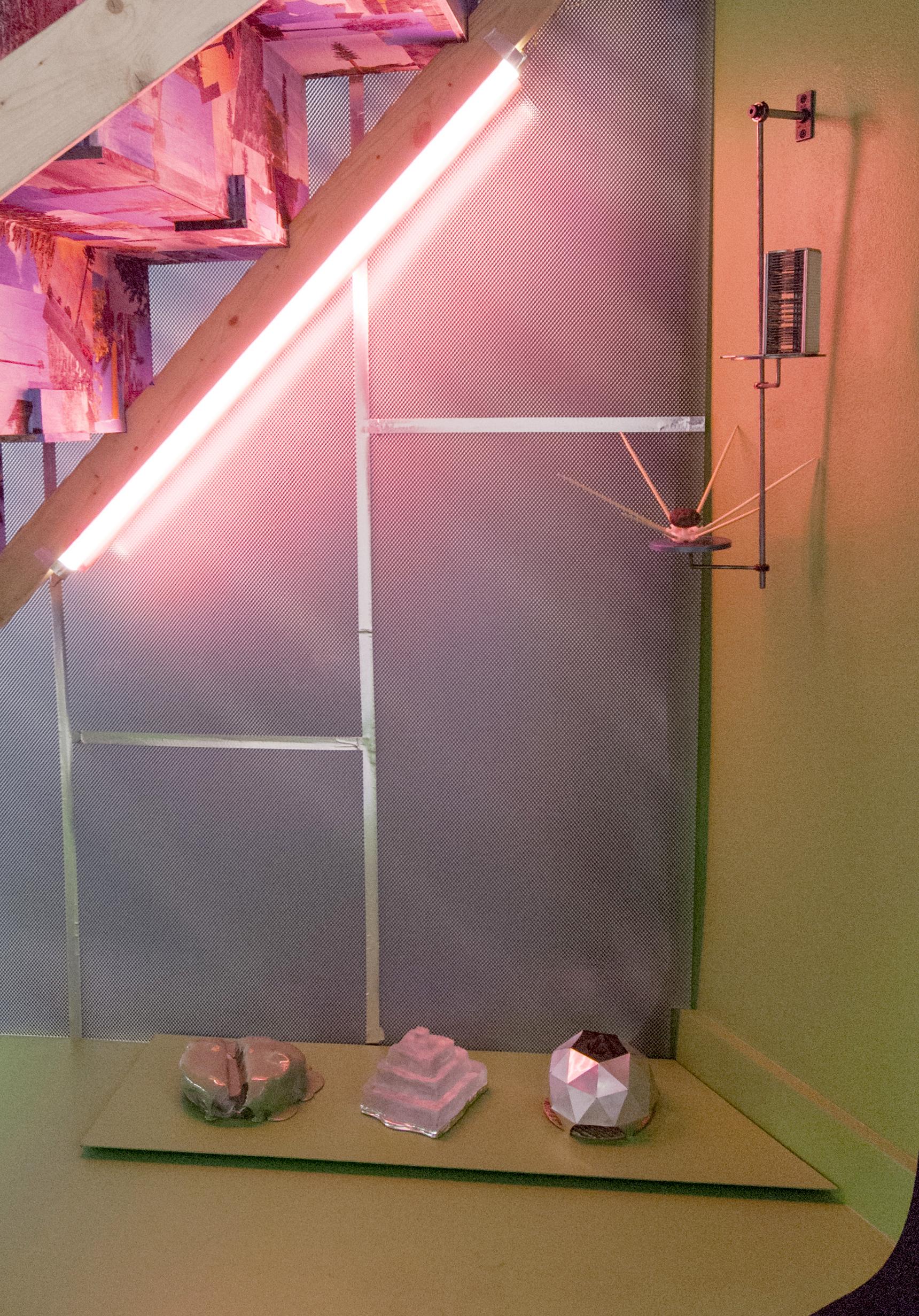 An Elaborate Scheme (installation view)