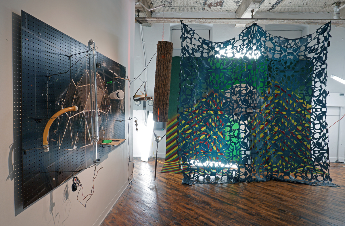 Present Whereabouts (installation view) with Proposal for Billy Pilgrim