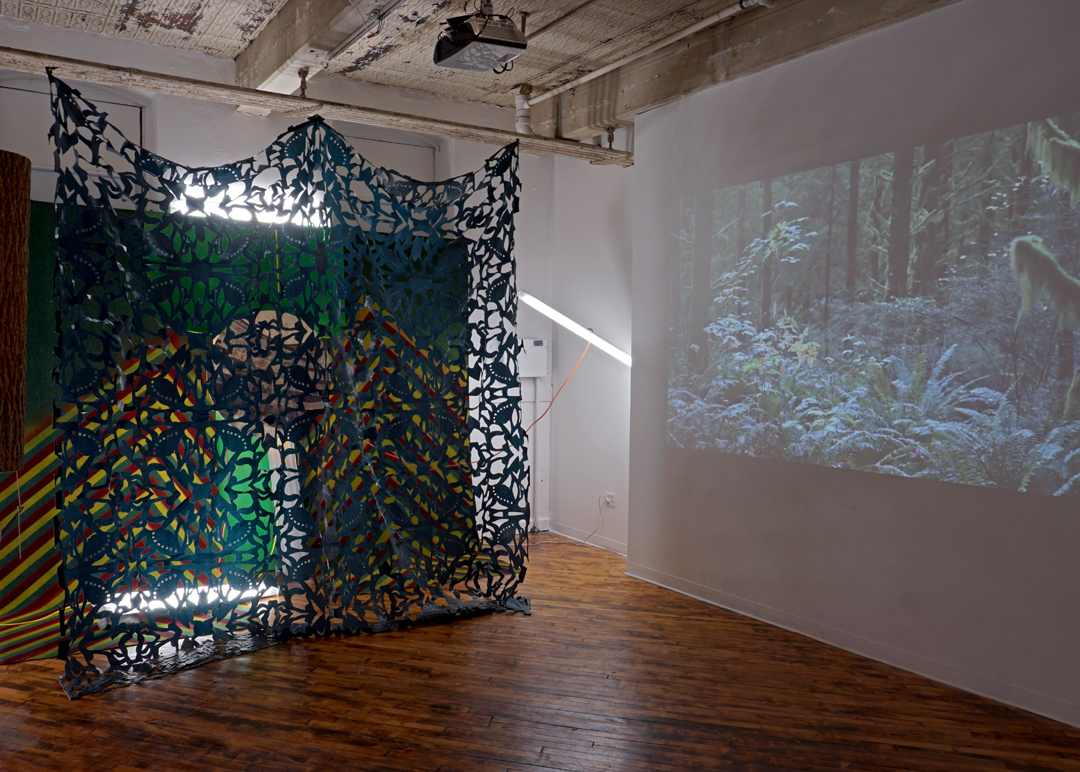 Present Whereabouts (installation view) with Bugout
