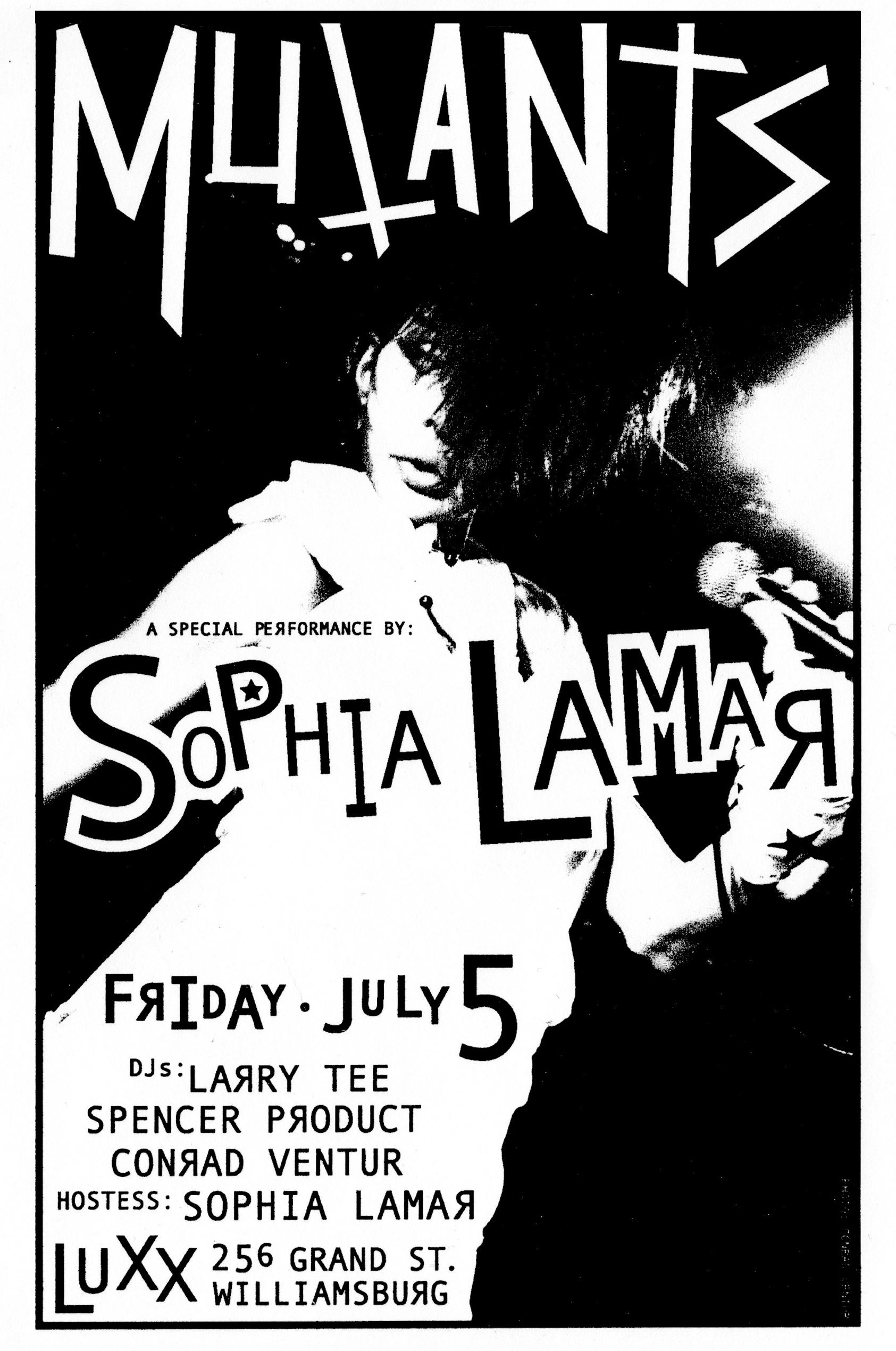 Mutants - Sophia Lamar