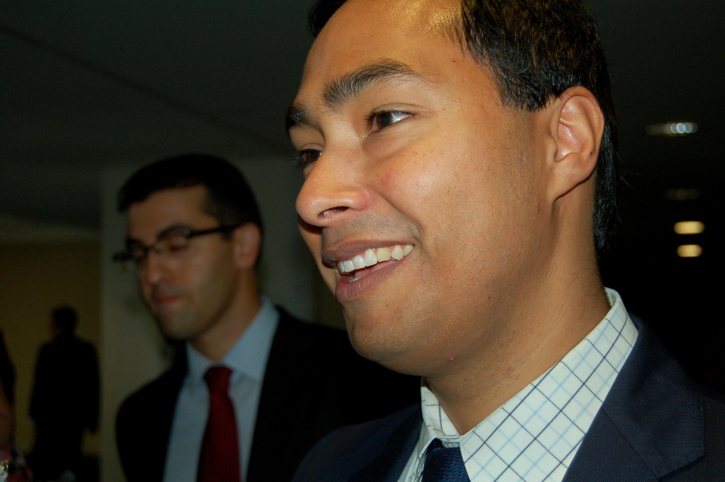 Congressman Joaquin Castro (D-Texas).  Flickr/ Texas Public Radio  .