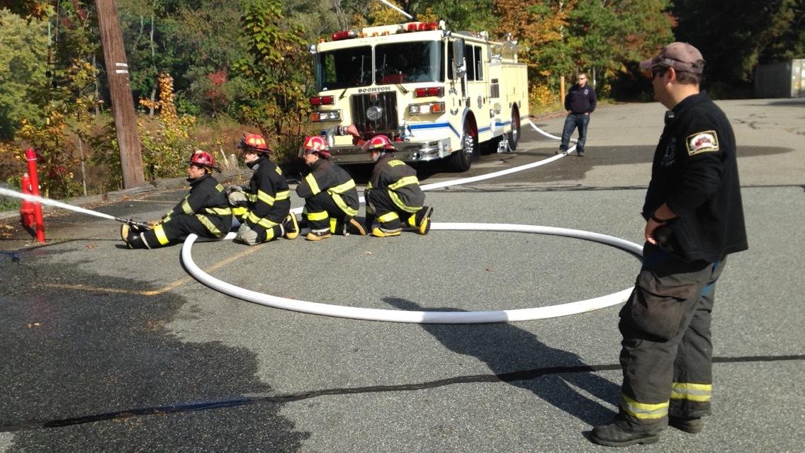 Fire Hose & Operation Training