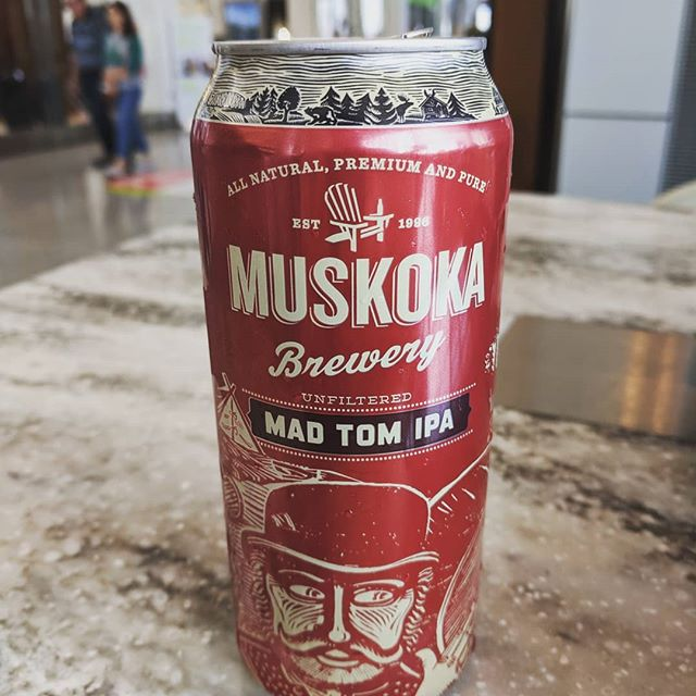 When you are still stuck in Toronto, but have time to look at the beer menu. #muskoka #madtomipa #ontario @muskokabrewery