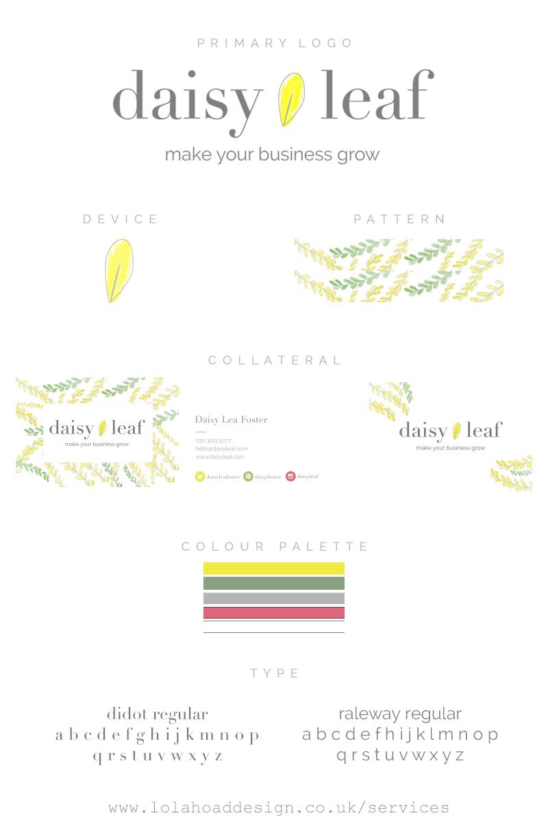 Lhdesign_daisy_leaf_branding_identity