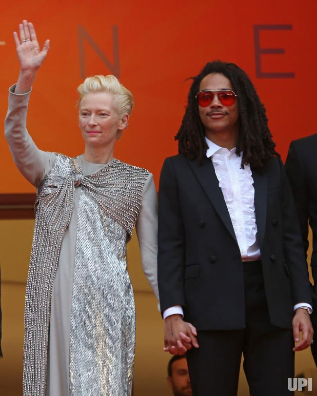 Luka Sabbot at Cannes Film Festival